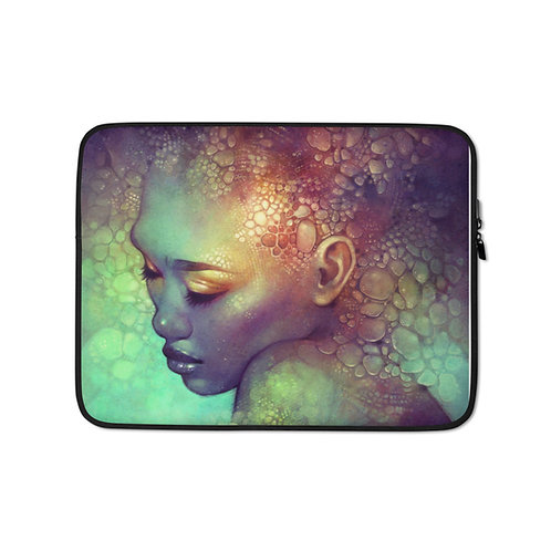 """Laptop sleeve """"Camouflage"""" by Escume"""