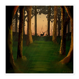 "Stickers ""Hunter's Path"" by Saddielynn"