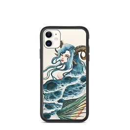 "iPhone case ""Capricorn"" by Bikangarts"