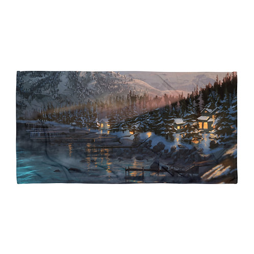 """Beach Towel """"Lake Tahoe"""" by """"chateaugrief"""""""