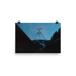 """Poster """"Air Raid"""" by Dark-indigo"""