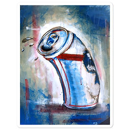 """Stickers """"Blue Ribbon"""" by MikeOncley"""
