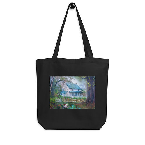 """Tote bag """"Country Cottage"""" by """"phatpuppyart-studios"""""""