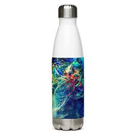 "Water Bottle ""My Indigo"" by Solar-sea"