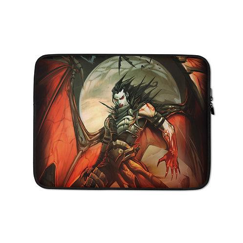 """Laptop sleeve """"Vampire"""" by El-grimlock"""