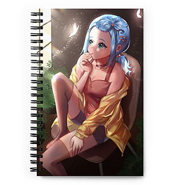 """Notebook """"Original Character - Remora"""" by Pigliicorn"""