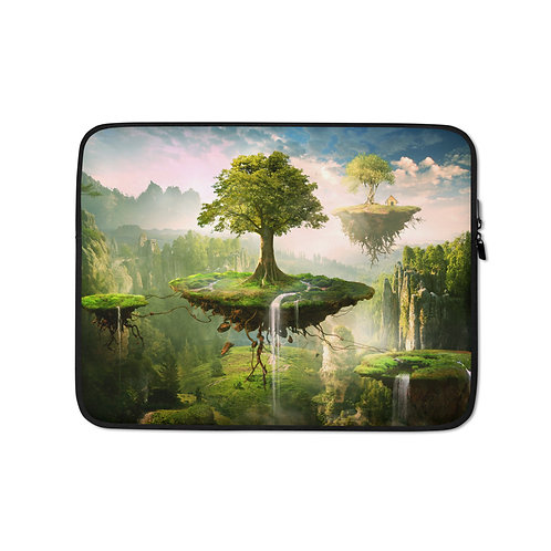 "Laptop sleeve ""Floating Islands"" by ElenaDudina"