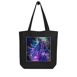 """Tote bag """"Hymn of Gathering Stars"""" by Solar-sea"""