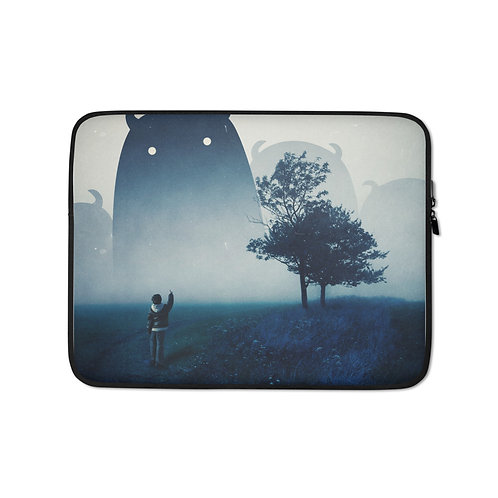 """Laptop sleeve """"The Family"""" by Hotamr"""