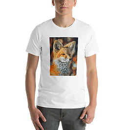 """T-Shirt """"Bright Side of the Red Fox"""" by Beckykidus"""