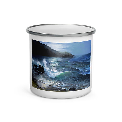 """Enamel Mug """"Anchor Bay"""" by """"chateaugrief"""""""