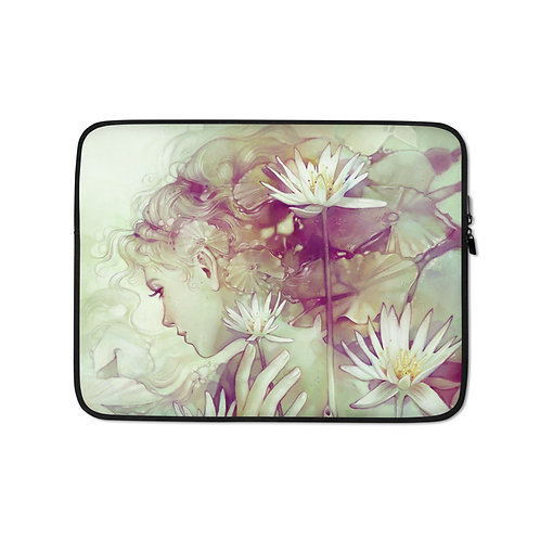 """Laptop sleeve """"Pond"""" by Escume"""