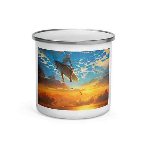 """Enamel Mug """"beautiful-world"""" by """"RHADS"""""""