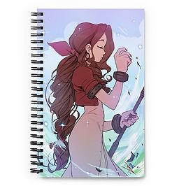 """Notebook """"Healing Wind"""" by Vashperado"""