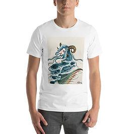 """T-Shirt """"Capricorn"""" by Bikangarts"""