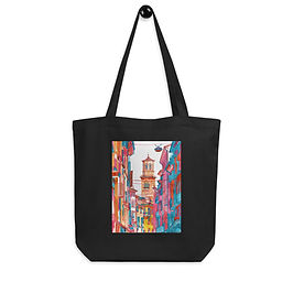 "Tote bag ""Verona Street"" by ""Takmaj"""