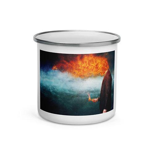 "Enamel Mug ""Deep"" by ""Aegis-Illustration"""