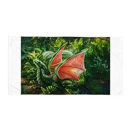 "Beach Towel ""Fruit"" by Hymnodi"