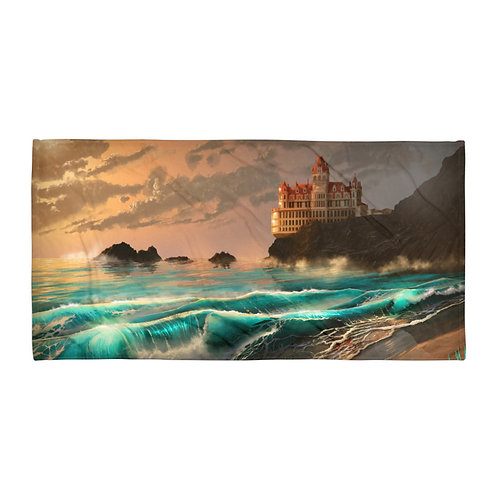 """Beach Towel """"Cliff House"""" by """"chateaugrief"""""""