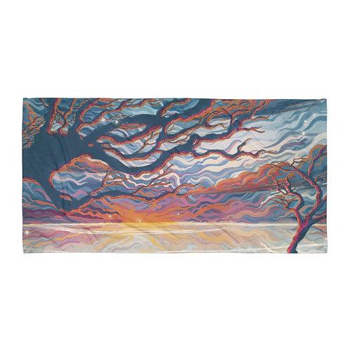 "Beach Towel ""Good Morning II"" by Ashnoalice"