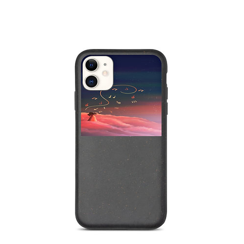 """iPhone case """"Clouded with Music"""" by Saddielynn"""