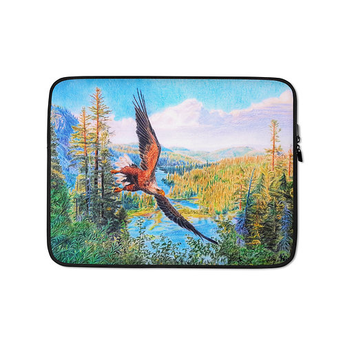 """Laptop sleeve """"Old Time Glory"""" by Beckykidus"""