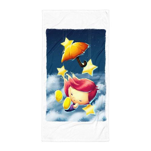 "Beach Towel ""A Million Parachutes V2"" by Thiefoworld"