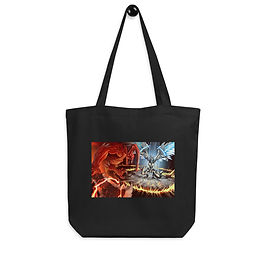 """Tote bag """"Clash"""" by """"el-grimlock"""""""