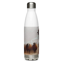 """Water Bottle """"Android Dreams"""" by Hymnodi"""