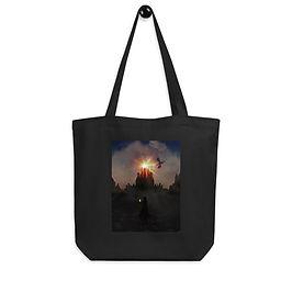 "Tote bag ""Dragonspire Keep"" by Saddielynn"