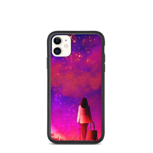 """iPhone case """"Wishful Escape"""" by Saddielynn"""