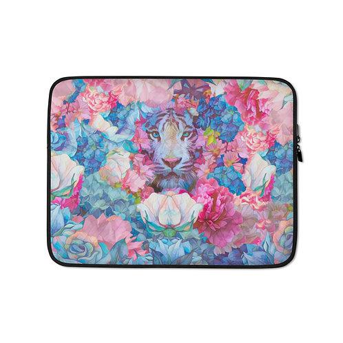 "Laptop sleeve ""Wild Springtime"" by Phatpuppyart-studios"