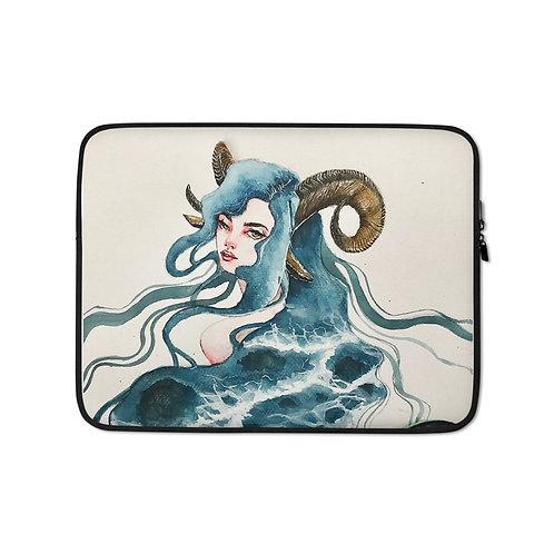 "Laptop sleeve ""Capricorn"" by Bikangarts"