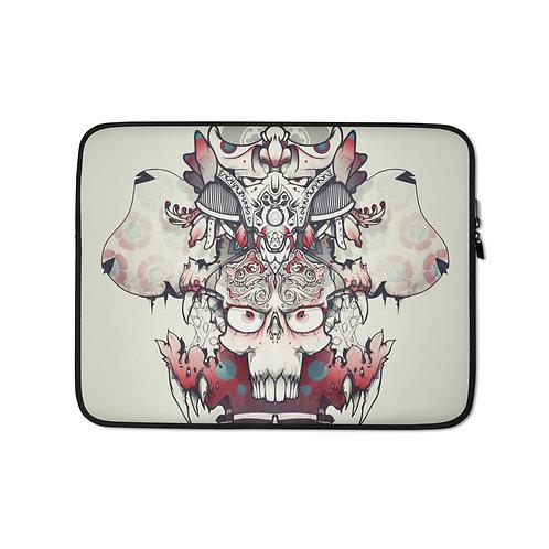 """Laptop sleeve """"Anibalvecprint"""" by Remiismeltingdots"""