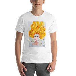 "T-Shirt ""Burn"" by Bikangarts"