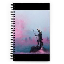 """Notebook """"Fisherman"""" by Dark-indigo"""