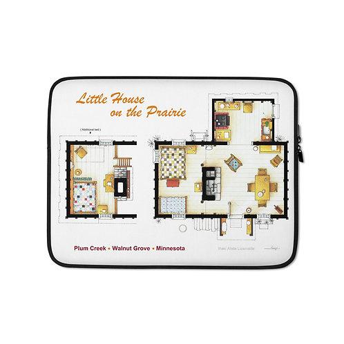 "Laptop sleeve ""Little House on the Prairie"" by NikNeuk"