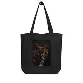"""Tote bag """"Black on Black"""" by Beckykidus"""