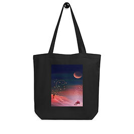 """Tote bag """"Clouded with Music"""" by Saddielynn"""