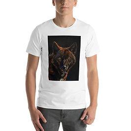 "T-Shirt ""Black on Black"" by Beckykidus"