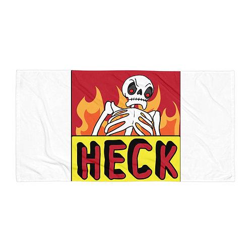 """Beach Towel """"Heck"""" by Rezabisuto"""