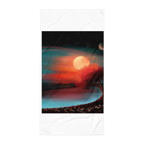 """Beach Towel """"Like a Dream"""" by Saddielynn"""