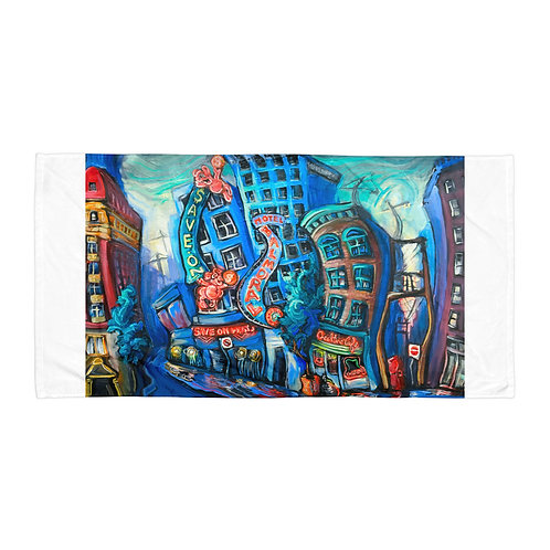 """Beach Towel """"DTES"""" by """"LauraZee"""""""