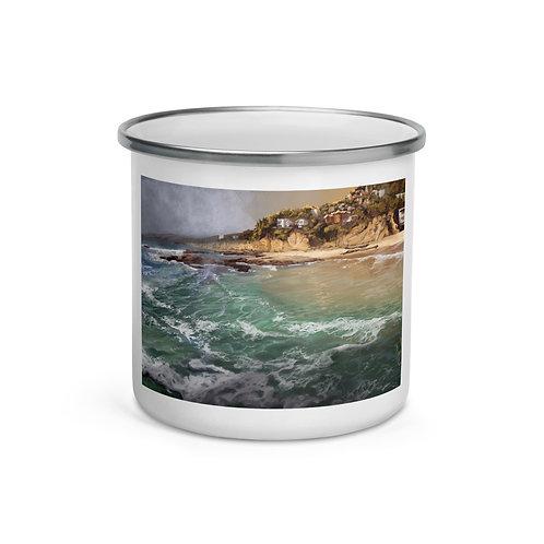 "Enamel Mug ""Laguna Beach"" by ""chateaugrief"""