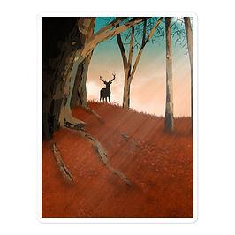"""Stickers """"Hunter Dream"""" by Saddielynn"""
