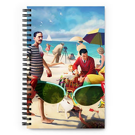 """Notebook """"Under the Boardwalk"""" by JeffLeeJohnson"""