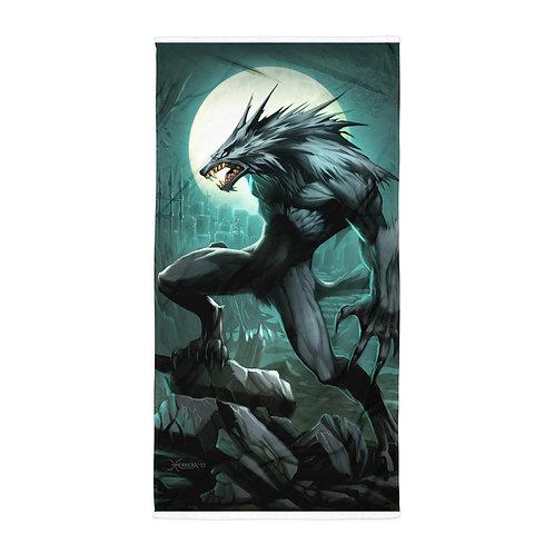 """Beach Towel """"Werewolf"""" by """"el-grimlock"""""""