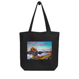 """Tote bag """"Near the Pond"""" by """"Gudzart"""""""