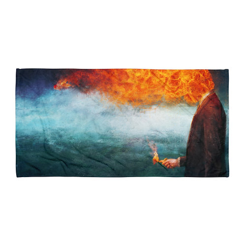 "Beach Towel ""Deep"" by ""Aegis-Illustration"""