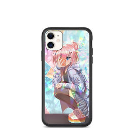 "iPhone case ""Kaleidoscope Girl"" by Pigliicorn"